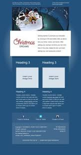premium holiday email template for mailchimp com available for