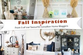 Canadian Home Decor by Canadian Home Blogger Inspiration For Fall Eieihome