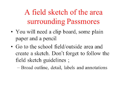 field sketching a geographical skill ppt video online download