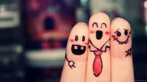 hd happy fingers wallpaper