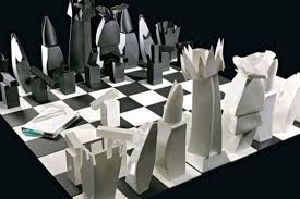 here now a 25 000 frank gehry designed chess set curbed