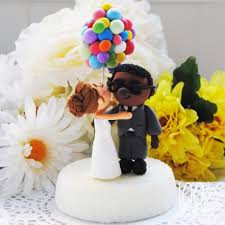 up cake topper picture of unique wedding cake toppers