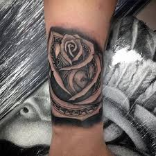 amazing rose tattoo small men s pictures to pin on pinterest