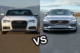 audi a6 tv 2017 volvo s90 vs 2016 audi a6 design