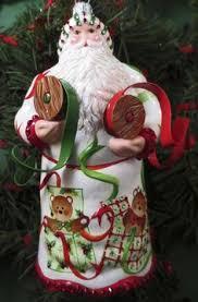 breen ornament caillebotte santa