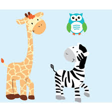 custom zebra wall decor and owl wall decals for kids custom zebra wall decals and owl wall stickers for kids