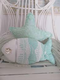 under the sea fish pillow nautical decor sea by searchnrescue2