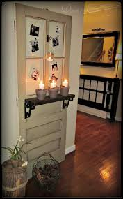 i love this idea items similar to antique door decoration on little brags decorating with old doors