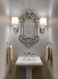 marvelous brushed nickel sconce plug in wall sconces powder room