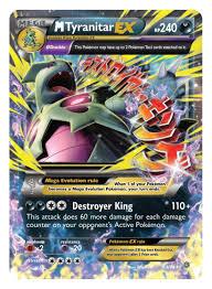 amazon com pokemon tcg mega tyranitar ex premium collection card