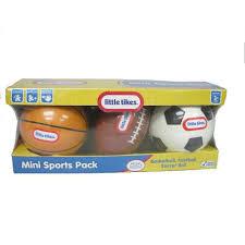 Little Tikes Storage Little Tikes Mini Sports Ball Toys