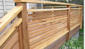 Ideas For Deck Handrail Designs Privacy Deck Railing Designs Ideas Home Railing Ideas