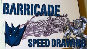 transformers ford mustang speed drawing ford mustang barricade transformers the last