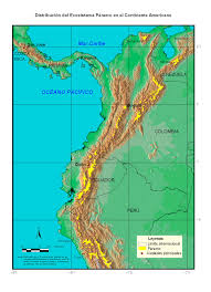Map Of Colombia Annex 8 Map Of Paramo Areas Global Environment Facility