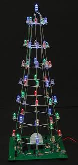 led christmas tree build the 3d christmas led tree nuts volts magazine for the