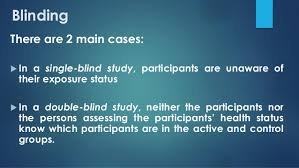 Define Single Blind Experiment Healthcare Research Methods Experimental Studies And Qualitative Stu U2026