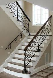 stair railing design the home design beautiful stair design both