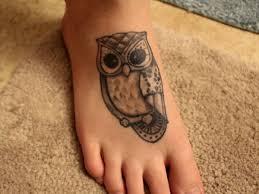 60 owl tattoos ideas for foot