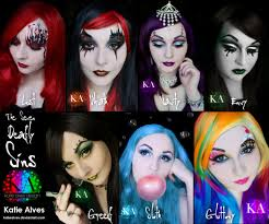 fantasy halloween makeup get six friends and dress up for halloween as the seven deadly