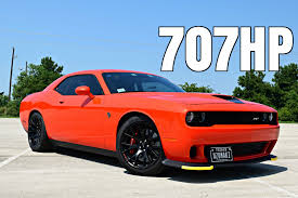 2016 dodge challenger hellcat driving review 6 spd manual youtube