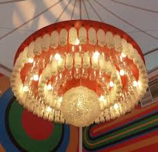 Chandelier Made From Plastic Bottles Upcycling Waste Plastic Bottles Changemakers