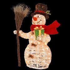 snowman yard decorations outdoor