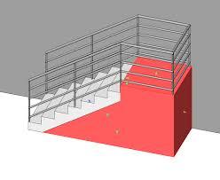 revitcity com attaching railings to precast stairs
