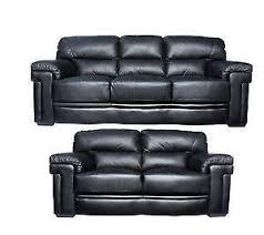 2 Seater Sofa Leather by 2 Seater Leather Sofa Sofas U0026 Seating Ebay