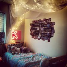 Ikea Flower String Lights by Diy Cozy For A Dorm Room Canopy Made Out Of Sheer Curtains From
