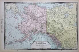 map of idaho alaska verso map of idaho and washington antique maps and