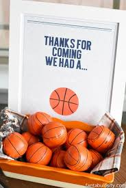basketball party table decorations basketball party ideas lots of decoration and food ideas along with