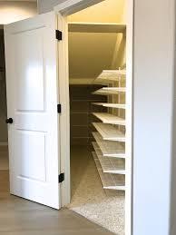 sweet organize coat closet under stairs roselawnlutheran
