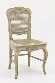 Country French Dining Room Chairs French Country Cane Dining Chairs Antique White In North Central