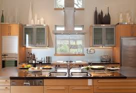 decorative items for above kitchen cabinets modern decorating above kitchen cabinets for kitchen design ideas