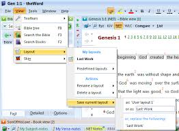 get layout from view adding theword commentary notes theword tutorial theword tutorial