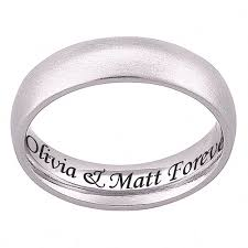 wedding quotes engraving personalized stainless steel engraved wedding band walmart