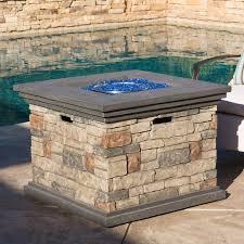 Table Firepit Monte Propane Pit Table Reviews Allmodern