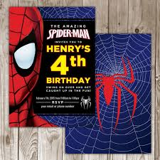 spiderman birthday invitations my birthday pinterest