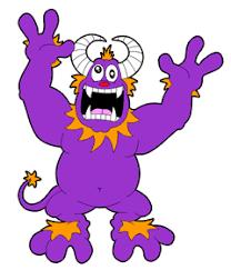 draw cartoon monsters