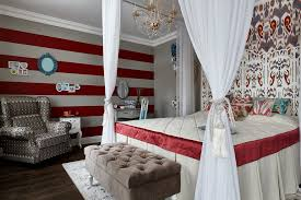 Contemporary Bedroom Interior Design Amazing Contemporary Bedroom With Spirit Ikat Patterns