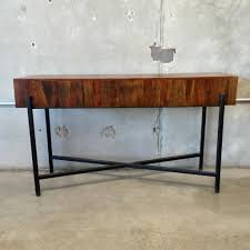 Glass And Metal Sofa Table Bedroom Captivating Wooden Sofa Table Metal Frame Urbaricana And