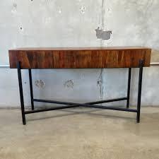 Metal And Wood Sofa Table by Bedroom Inspiring Bob Mackie Home Demi Lune Sofa Table Metal And