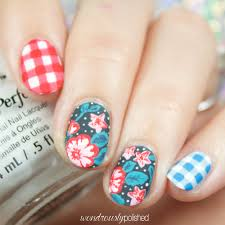 Nail Art Designs July 4 Wondrously Polished Happy 4th Of July