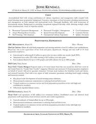 Sample Resume For Chef chef resume template classy chef resumes 11 chef resume template