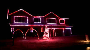 Christmas House Light Show by O U0027connor U0027s Christmas Light Show Basshunter Jingle Bells Youtube