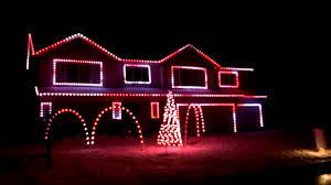Christmas House Light Show by O U0027connor U0027s Christmas Light Show Basshunter Jingle Bells Youtube