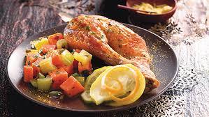 cuisine chapon roti chapon rôti sauce gremolata recette de cuisine jardinerie