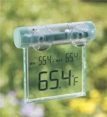 digital window window thermometer digital thermometers wind weather