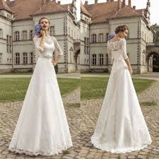 vintage lace a line wedding dresses 2015 romantic country style