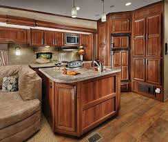 5th wheel floor plans with rear kitchen wildcat fifth wheel by